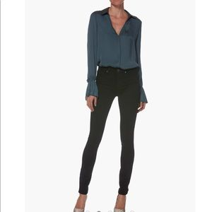 Paige Jeans Hoxton Ultra Skinny - Black Shadow